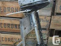 Vintage / Antique Evinrude Elto Ranger 1.1HP model