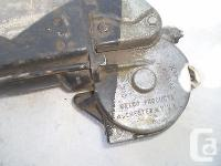1967 chevrolet power window motor drivers side will fit