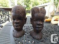 Have The appearance of West African art. Artist