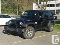 2014 Jeep Wrangler Unlimited Rubicon 4X4 Auto Bluetooth