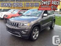 2015. Jeep. Grand Cherokee. Limited. 4X4. V6. Auto