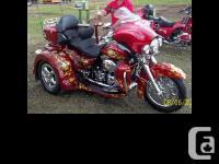 2008 Harley Davidson FLHTCUSE5 CVO Trike Custom Ultra