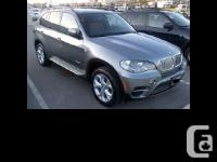 2012 BMW X5 xDrive Canadian car with clean CarProof!