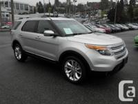 This 2015 Ford Explorer Limited four wheel-drive Nav