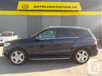 2013 MERCEDES BENZ ML350 BLUETEC 4MATIC...THIS LOCAL BC