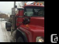 2000 Mack RB688 Red RB Mack truck model year 2000 This