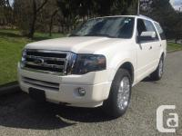 This 2014 Ford Expedition Limited four wheel-drive Nav