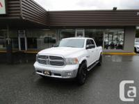 2014 DODGE RAM 1500 ECO DIESEL CREW CAB / 4X4 / LEATHER