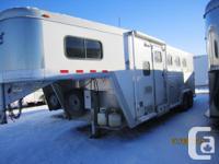2007 Cimarron Custom Built three Horse Aluminum