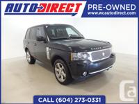 The 2010 Land Rover Range Rover Supercharged is an