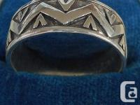 Up for the auction is a vintage German Sterling silver