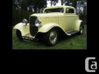 Great little proven hot rod,32 Ford frame boxed where