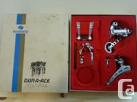 Vintage Shimano Dura Ace first Gen deraillers and