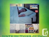 """MATTRESS WEDGET - KING (76"""" X 8-1/2"""") Stopyour pillows"""