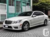 This 2010 Mercedes-Benz E63 AMG is powered by a AMG