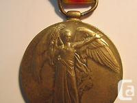 WW1 CEF Victory medal to Henery Herbert NICE, who was