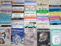 Huge Lot of 85 Vintage Sheet Music Songs Product