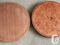 Two 1920's or 30's banjo resonators in need of