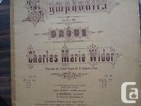 Symphonies V. Op. 42Etait organiste du Grand Orgue de