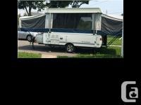 2007 Fleetwood Americana Series Cheyenne M-4296. Tent