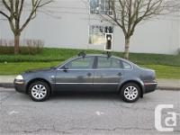 Fully loaded top of the line VW Passat 1.8T luxury