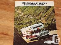 This is an original eleven page CHEVY TRUCKS /