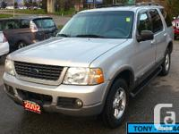 2002 FORD EXPLORER Limited 4X4 7 PASSENGER 3 ROWS OF