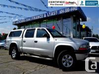 Nice and rare! Dodge Dakota with four wheel-drive and
