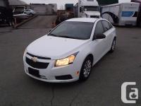 2011 Chevrolet Cruze LS. 1.8L. four cyl. four door.
