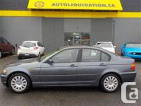 2002 BMW 320i SEDAN...THIS LOCAL BC UNIT IS EQUIPPED