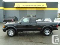2002 FORD RANGER EDGE ...THIS LOCAL BC UNIT IS EQUIPPED