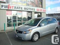 2005 NISSAN QUEST 2.5S. LOCAL VAN. ONLY 138000kmS.