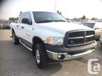 Calgary Pre-owned Car Sales 2004 Dodge Ram 2500 Quad