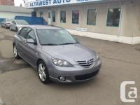 JUST ARRIVED TERRIFIC LOOKING MAZDA 3 five DOOR WITH