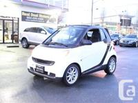 2008 SMART FORTWO PASSION - Automatic - 2 Door