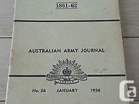 On offer here is a 142 page Australian Army journal