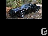1987 Buick Grand National Immaculate condition T Top