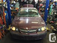 Template By Frooition Lite! 00 01 02 03 04 05 IMPALA for sale  Alberta