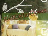 NEW SURE FIT CANADA~ LOVESEAT THROW / COVER ~ *We Ship