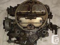 1970'S PRE-OWNED FACTORY GM ROCHESTER QUADRAJET CARB.