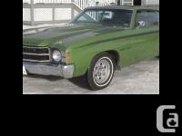 1971 Chevrolet Chevelle LS3YF3 An original or
