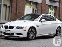 2011 BMW M3 ALPINE WHITE (WHITE) ON BLACK NOVILLO