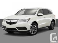 Clearance Sale is onNow forthe remaining 2016 Acura MDX