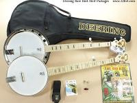 On offer is a new Deering Goodtime two Resonator back