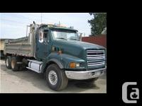1998 Ford 9000 Dump Truck and 1999 Double Raja Pony