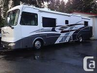 Tiffin Motorhomes Phaeton, fully painted body. Well