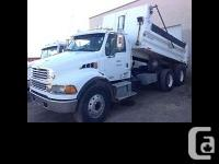 2004 Sterling Acterra Dump Truck. 2004 Sterling dump