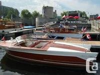 The rarest of all post-war Chris-Craft runabouts. Came