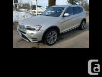 2015 BMW X3 xDrive28d S-U-V For Sale in Kingston,