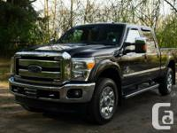 Expect the best with this 2014 Ford F-350 Lariat.